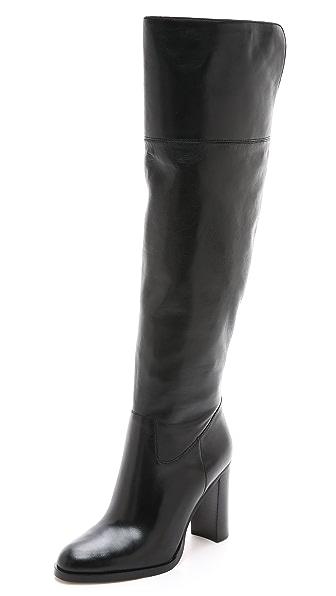 Michael Michael Kors Regina Tall Zip Boots - Black