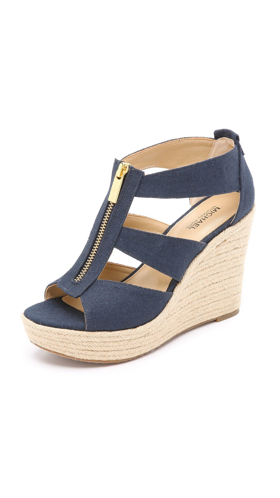 308a5000b7fd MICHAEL Michael Kors Damita Wedge Sandals