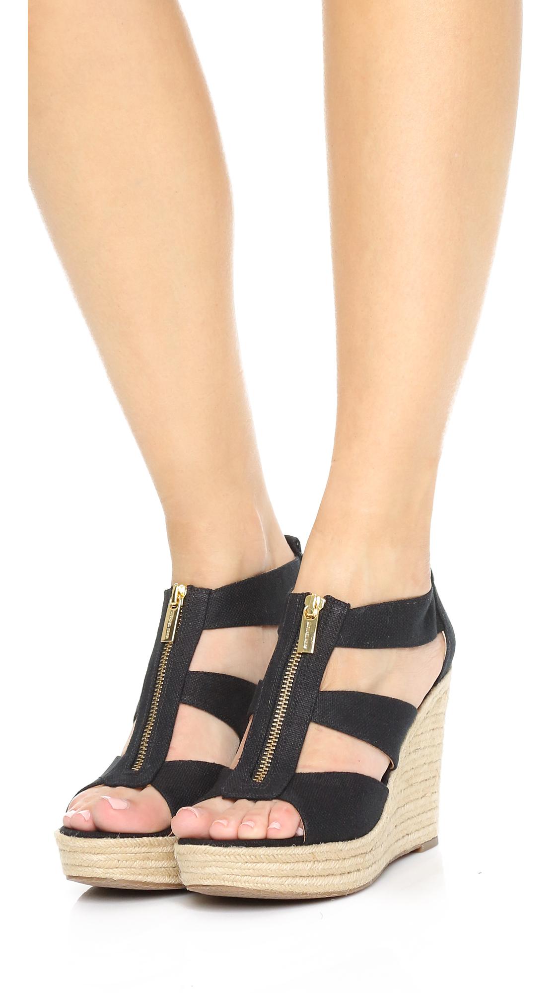 47c9bb6722c8 MICHAEL Michael Kors Damita Wedge Sandals