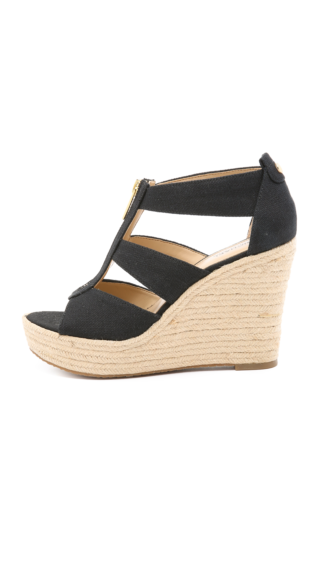 51499191cea MICHAEL Michael Kors Damita Wedge Sandals