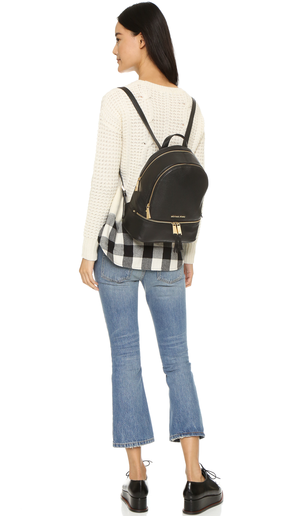 37562ae4d9c2f Buy michael kors small rhea backpack   OFF56% Discounted