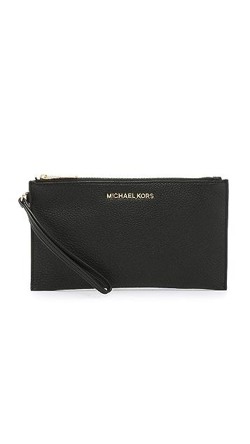 MICHAEL Michael Kors Bedford Large Zip Clutch