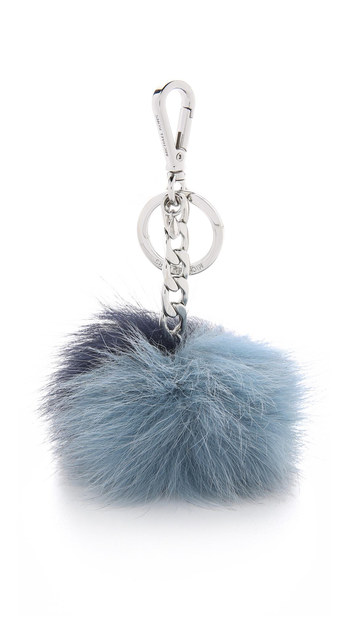 MICHAEL Michael Kors Fur Pom Pom Bag Charm  4acad92b2dde2