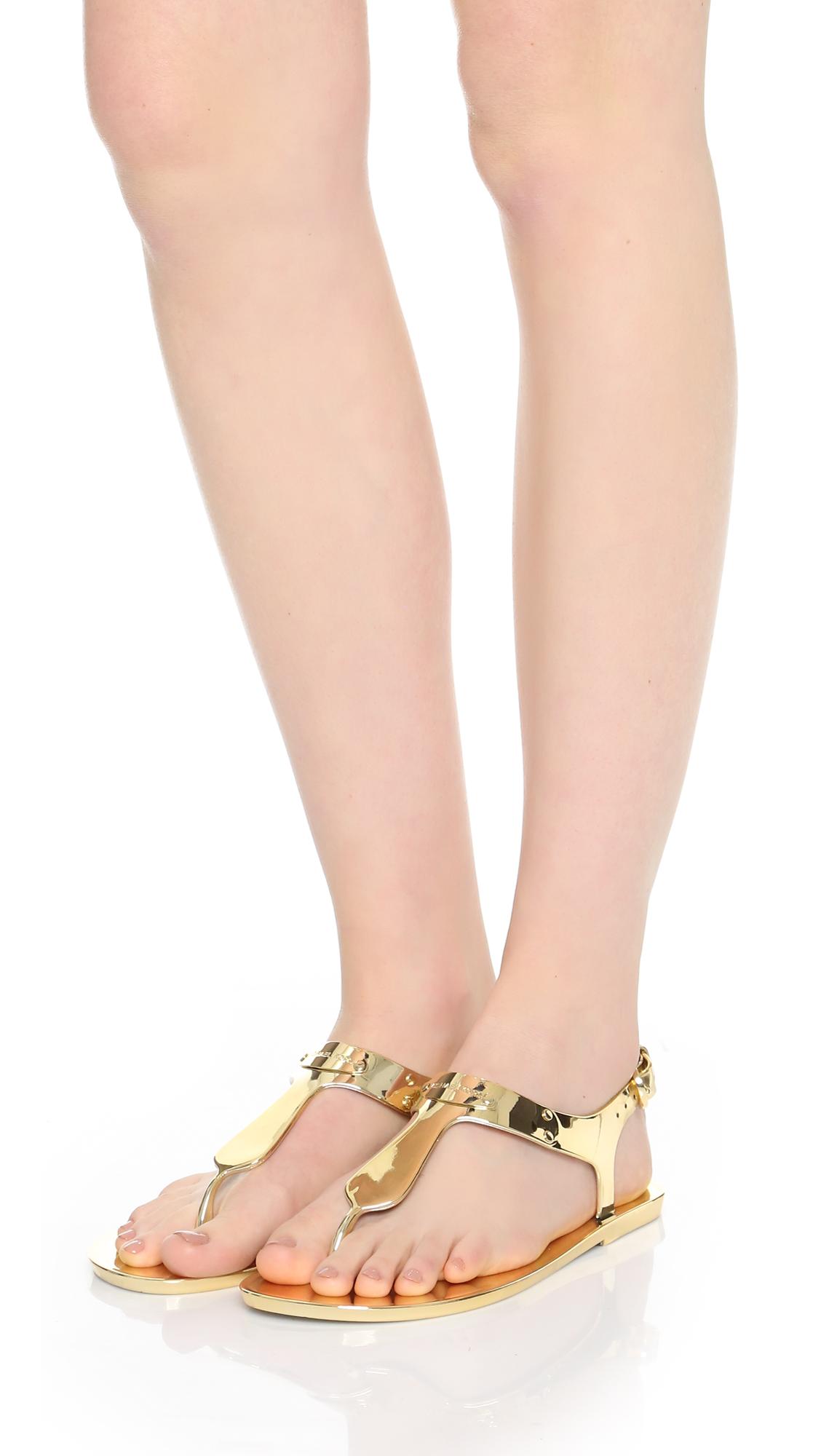 9fc4a334629 MICHAEL Michael Kors MK Plate Jelly Sandals