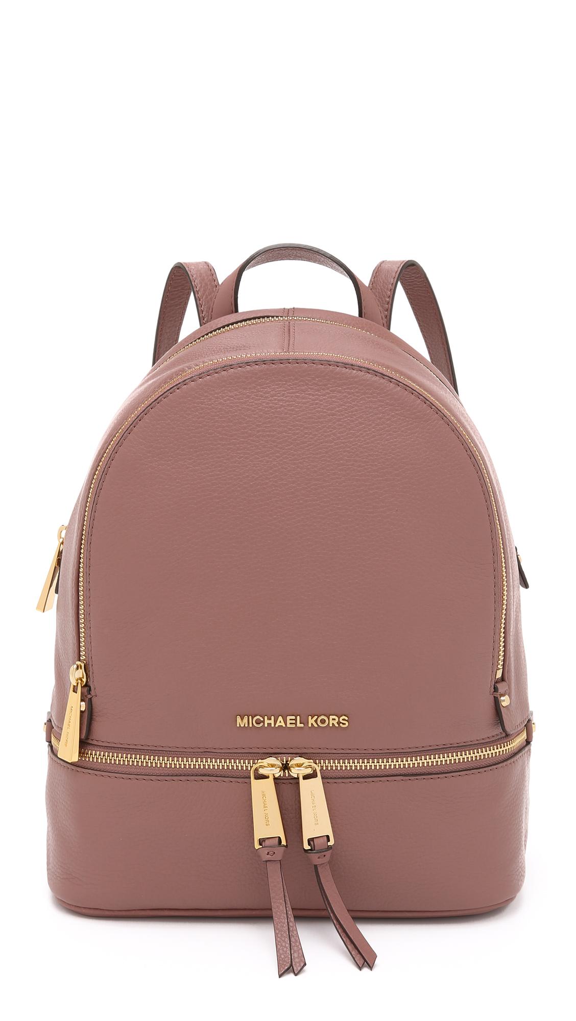 ef0a8ffecac1 Buy michael kors backpack rhea   OFF44% Discounted