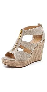 Damita Wedge Sandals                MICHAEL Michael Kors