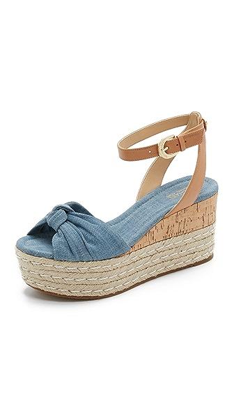MICHAEL Michael Kors Maxwell Wedge Sandals