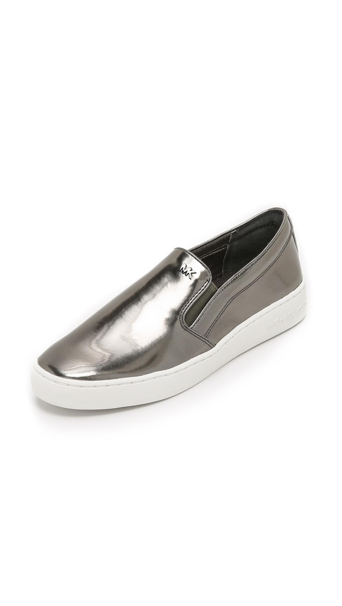 metallic slip-on sneakers Michael Kors shncrE8w