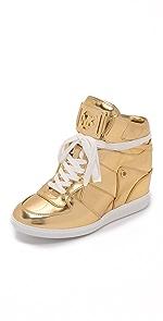 Nikko High Top Sneakers                MICHAEL Michael Kors