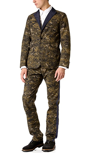Mark McNairy New Amsterdam Digi Camo Tuxedo Jacket