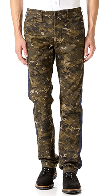 Mark McNairy New Amsterdam Digi Camo Tuxedo Pants