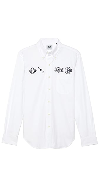 Mark McNairy New Amsterdam Monogram Shirt