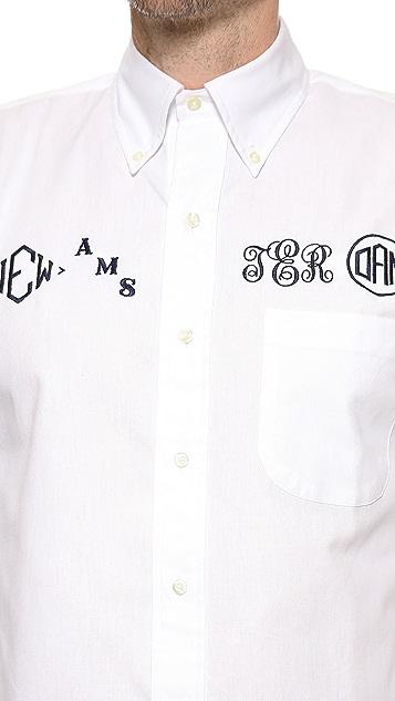 Mark McNairy New Amsterdam Monogram Shirt