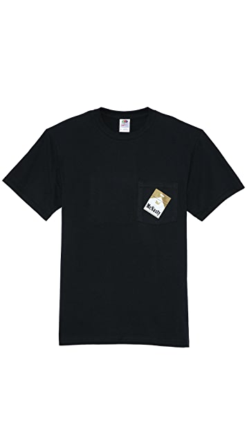 Mark McNairy New Amsterdam McNasty Pocket T-Shirt