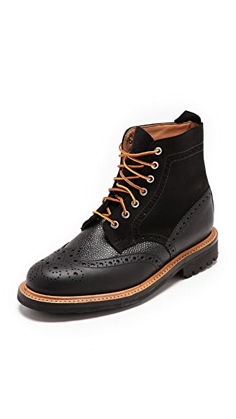 Mark McNairy New Amsterdam Crazy Mix Brogue Boots