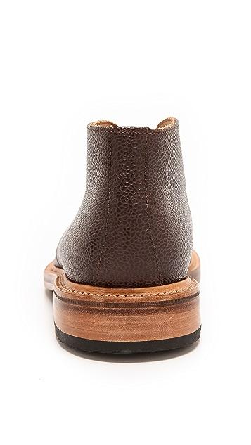 Mark McNairy New Amsterdam Pebble Grain Chukka Boots