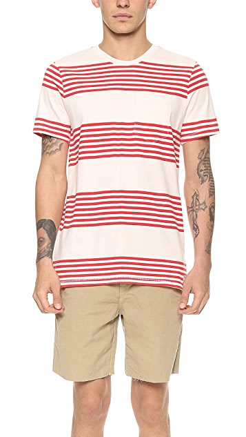 M.Nii Big Rock Pocket T-Shirt