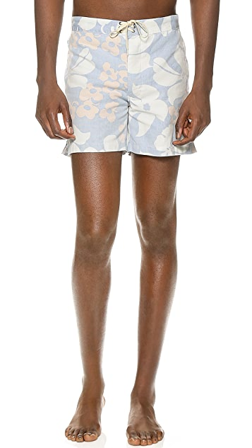 M.Nii Canyon Bloom Drowner Board Shorts