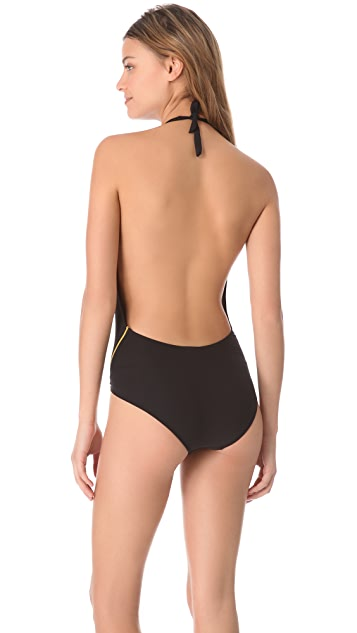 Melissa Odabash Bermuda One Piece Swimsuit