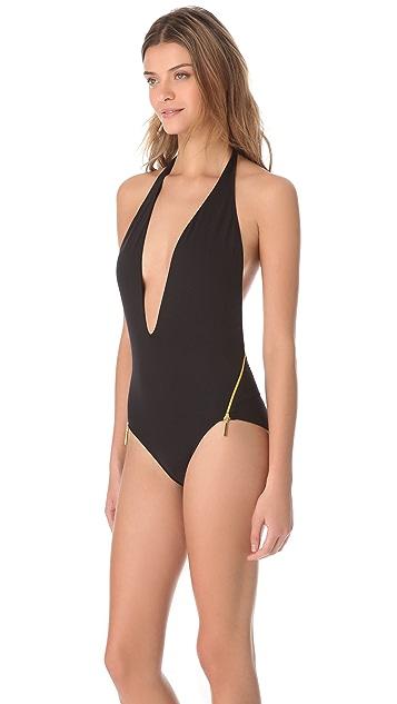 Melissa Odabash Bermuda One Piece Swimsuit