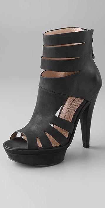 Modern Vintage Shoes Georgie High Heel Booties