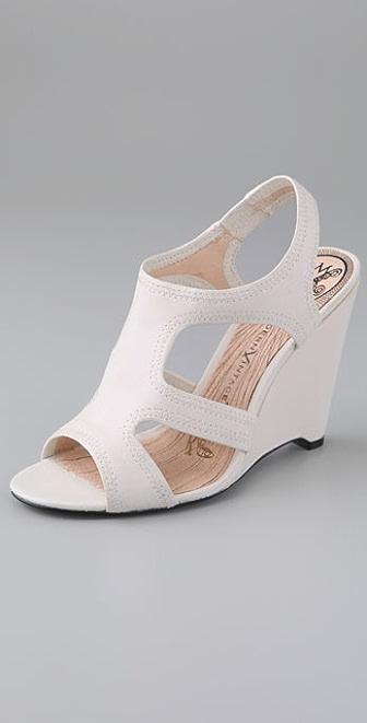 Modern Vintage Shoes Sage Wedge Sandals