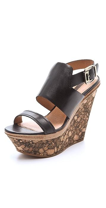 Modern Vintage Shoes Valeree Wedge Sandals