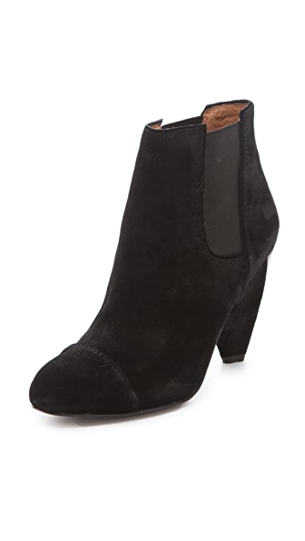 Modern Vintage Shoes India Suede Booties