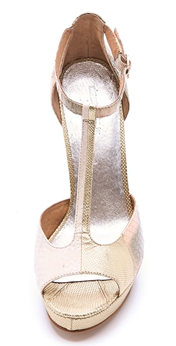 Modern Vintage Shoes Decades for Modern Vintage '60s T Strap Pumps