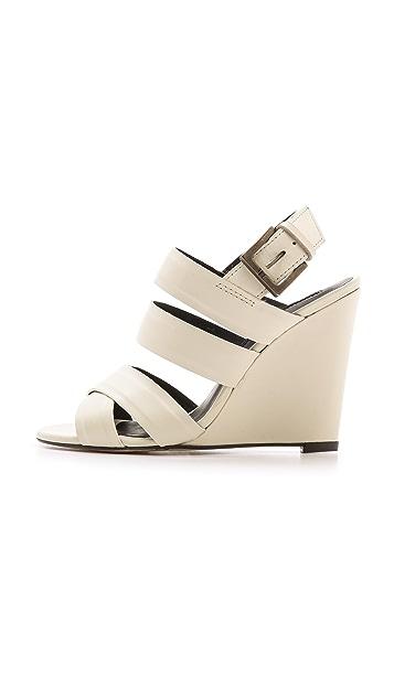 Modern Vintage Shoes Robin Wedge Sandals