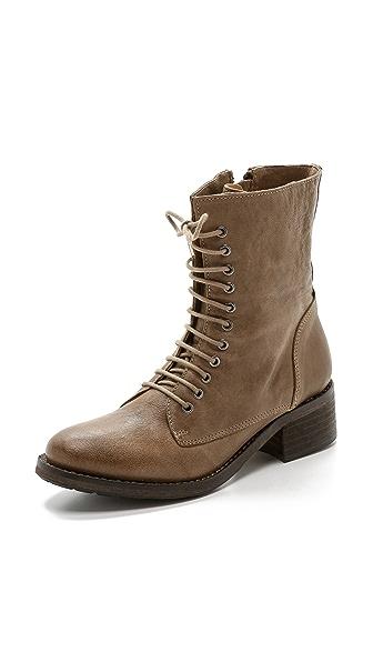 Modern Vintage Shoes Jaya Combat Boots