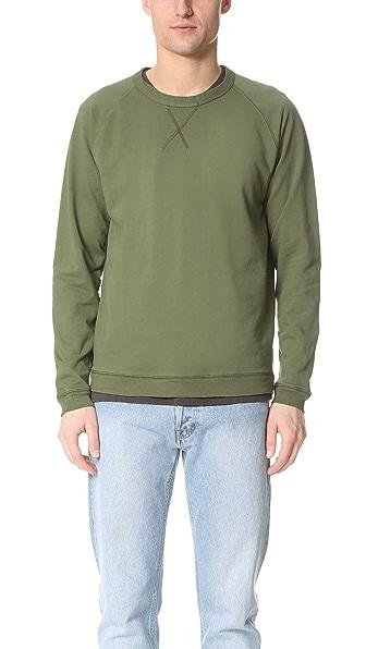 Mollusk Raglan Crew Sweatshirt
