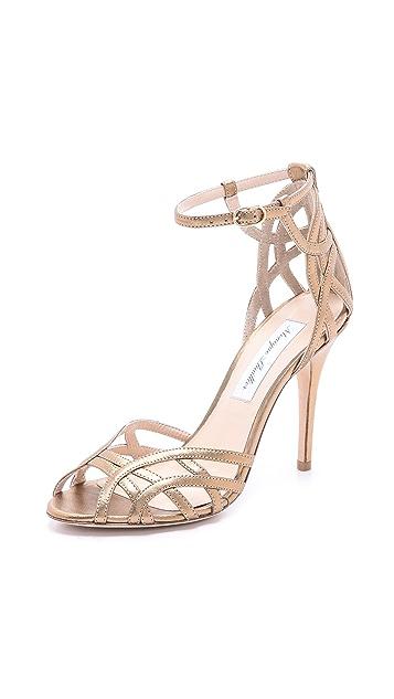 Monique Lhuillier Ankle Strap Sandals