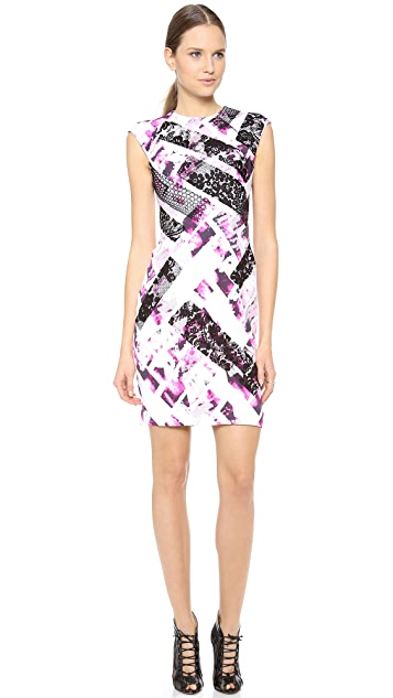 Monique Lhuillier Sleeveless Shift Dress