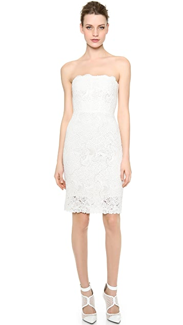 Monique Lhuillier Andie Lace Dress
