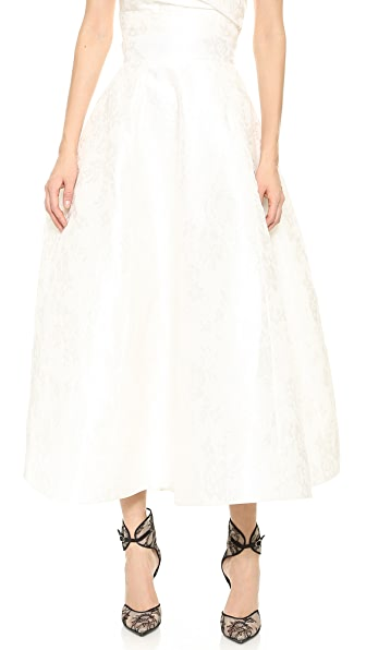 Monique Lhuillier Emmy Tea Length Skirt
