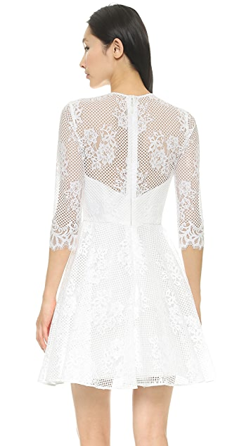 Monique Lhuillier Mignon A Line Dress
