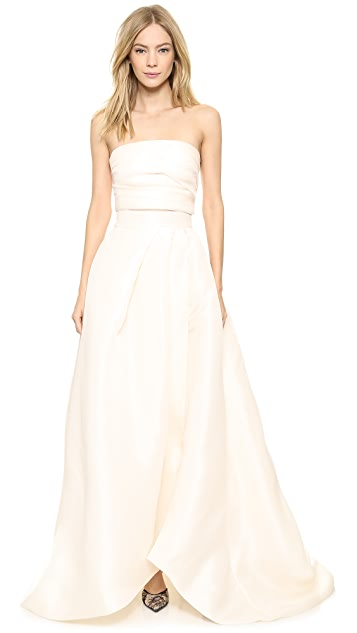 Monique Lhuillier Capri Ball Gown Skirt