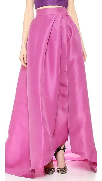 Monique Lhuillier Ball Skirt - Magenta