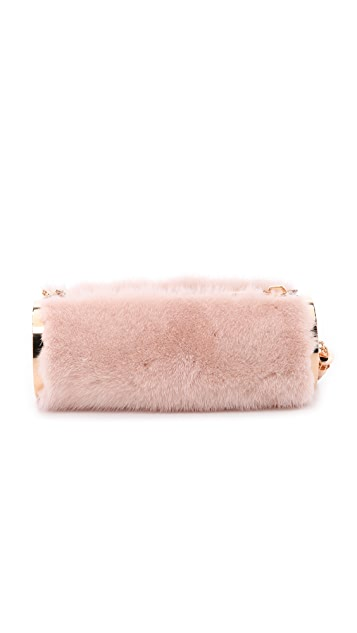 Monique Lhuillier Kate Mink Clutch