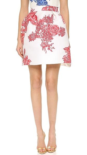 Monique Lhuillier Full Pleated Skirt