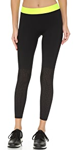 Cropped Booster Leggings                Monreal London