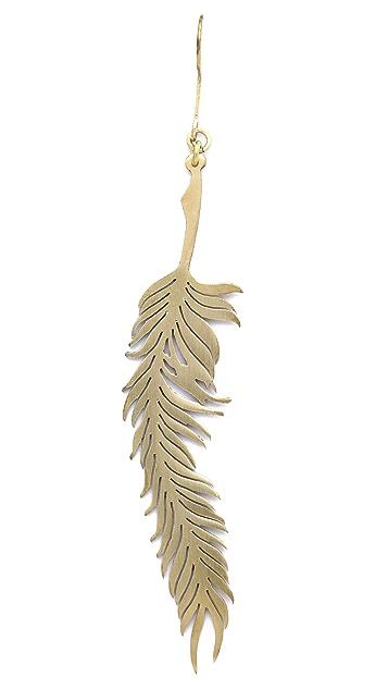 Monserat De Lucca Feather Earrings