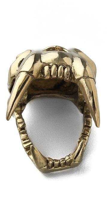 Monserat De Lucca Saber Skull Ring
