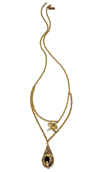 Monserat De Lucca Bird & Nest Necklace