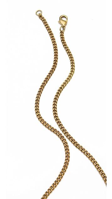 Monserat De Lucca 3 Skull Necklace