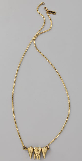 Monserat De Lucca Teeth Necklace