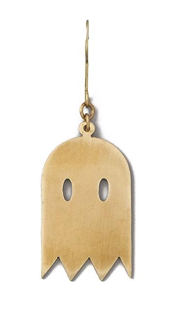 Monserat De Lucca Pac Man Earrings