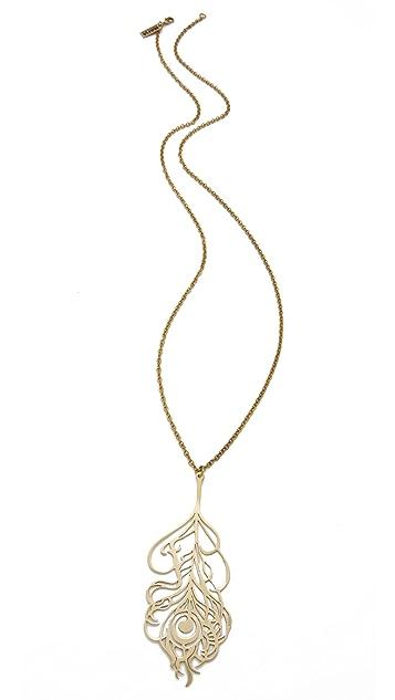 Monserat De Lucca Feather Necklace