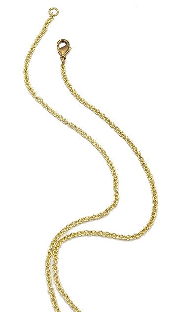 Monserat De Lucca Whale Necklace